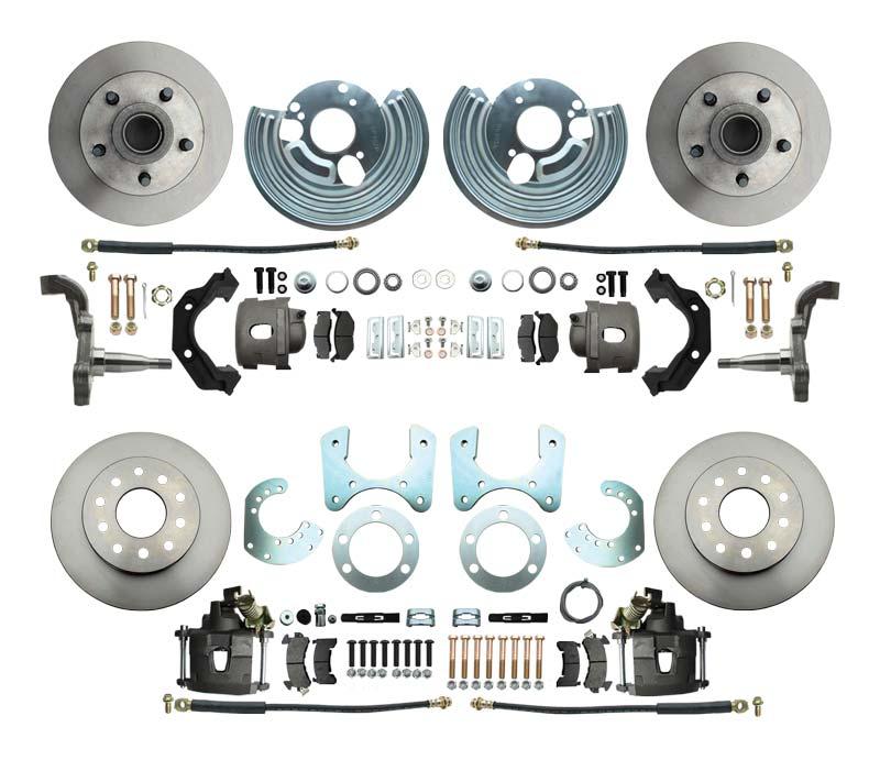 Mopar A Body Front & Rear Disc Brake Kit