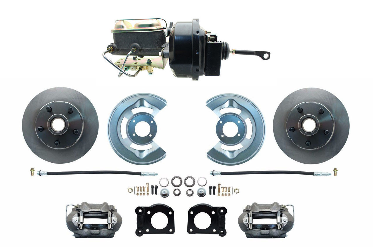 1964.5-1966 Ford Mustang Front Power Disc Brake Conversion