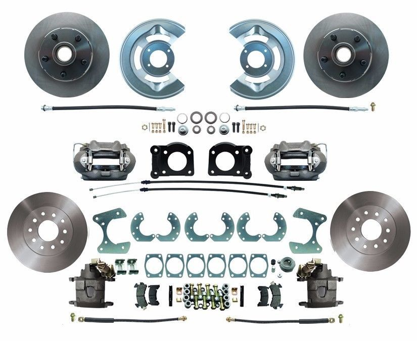1970-1973 Ford Mustang Front & Rear Disc Brake Conversion