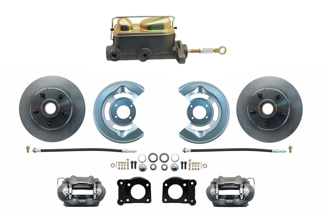 DBK7073-MC7161M  - 1970-1973 Manual Mustang Disc Brake Conversion Kit