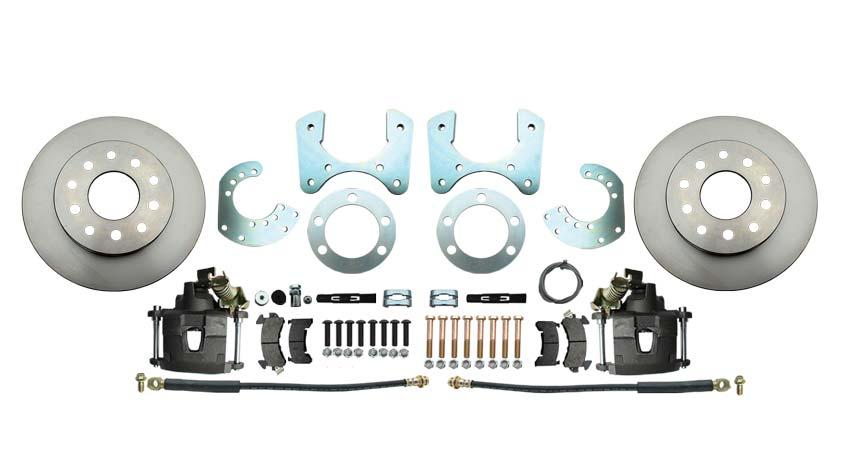 Mopar 8 3/4 (A, B, E Body) Rear End Disc Brake Kit