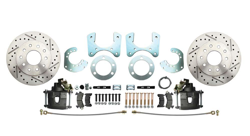 Mopar 8 3/4 (A, B, E Body) Rear End High Performance Disc Brake Kit