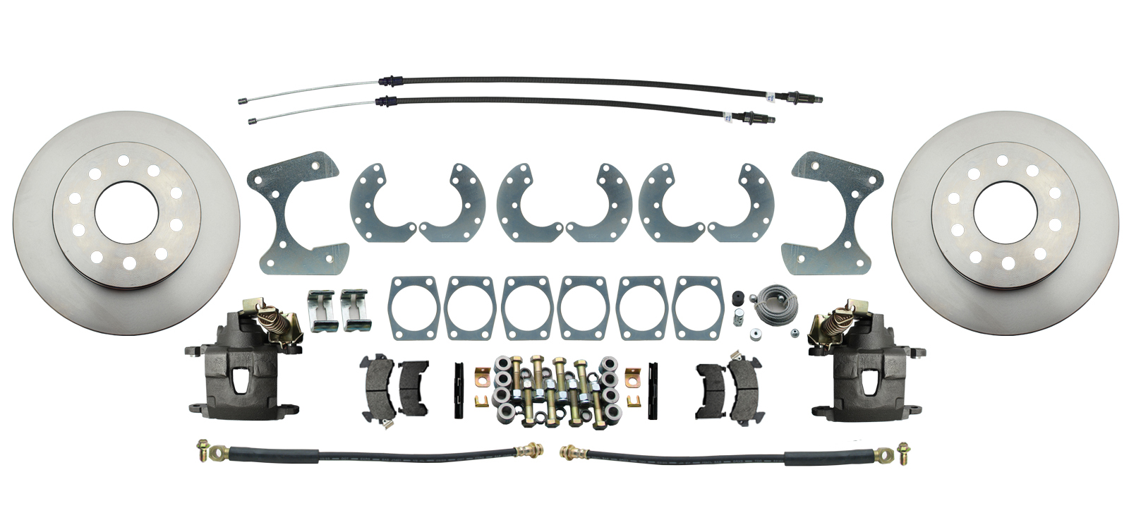 Universal Ford 8.8 & 9 Rear-End Universal Disc Brake Kit