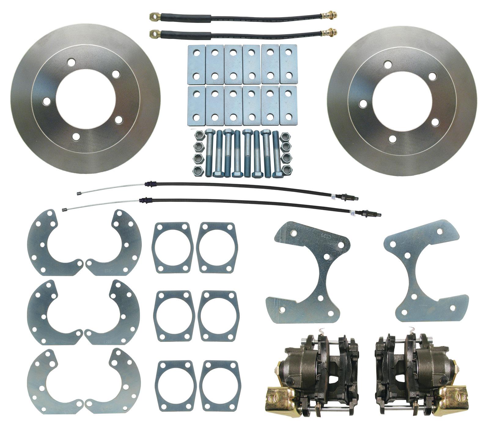 9 Ford Truck Rear End Disc Brake Kit