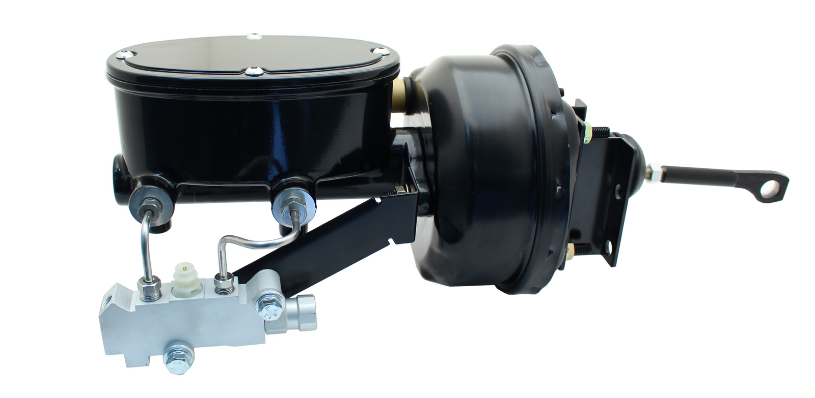 1964-1966 Ford Mustang Wilwood Style Oval Master 7 Single Booster Conversion Kit (Disc/ Disc)