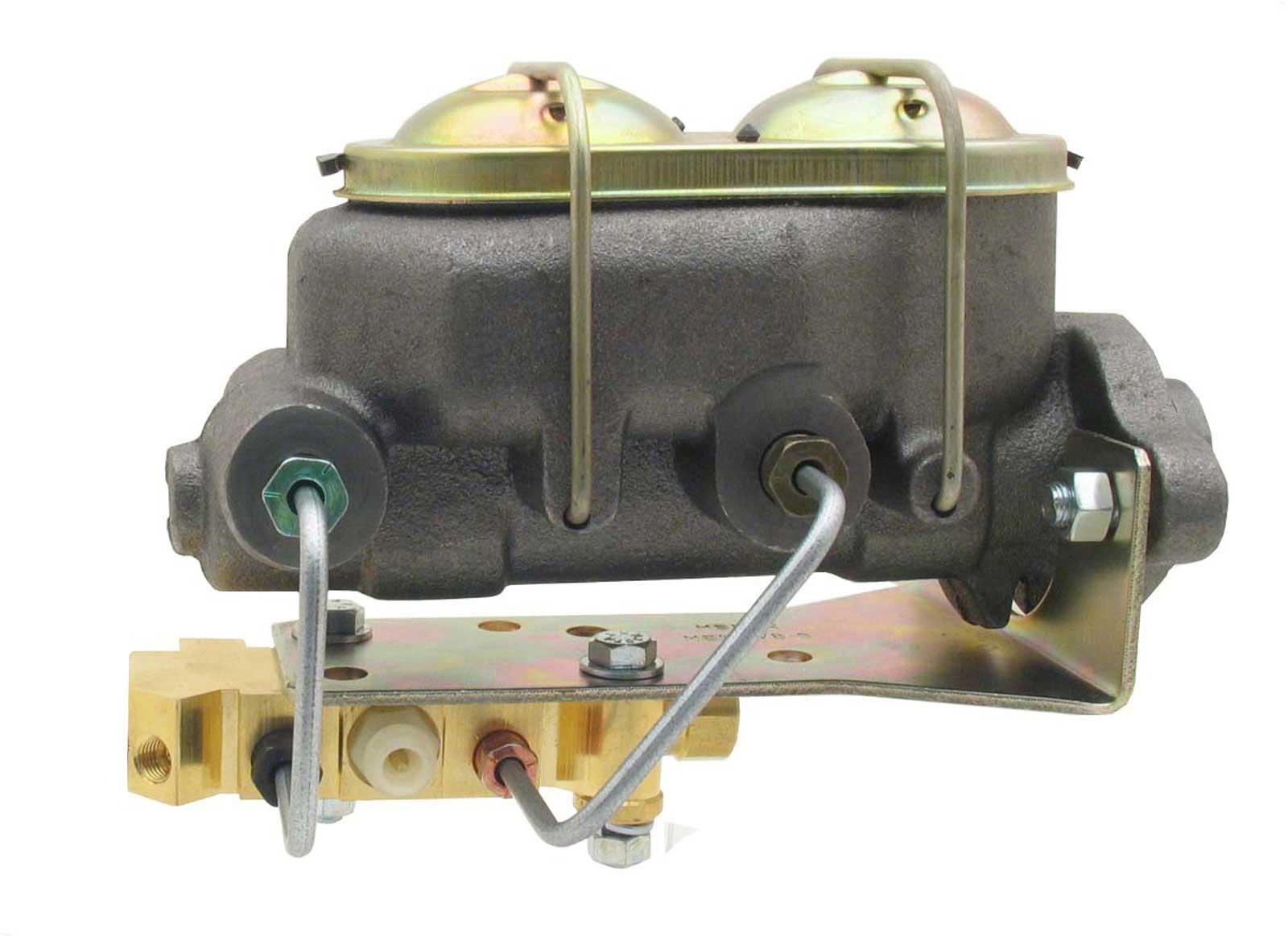 Universal Cast Iron Master Cylinder Kit W/ Bottom Mount Disc/Disc Proportioning Valve