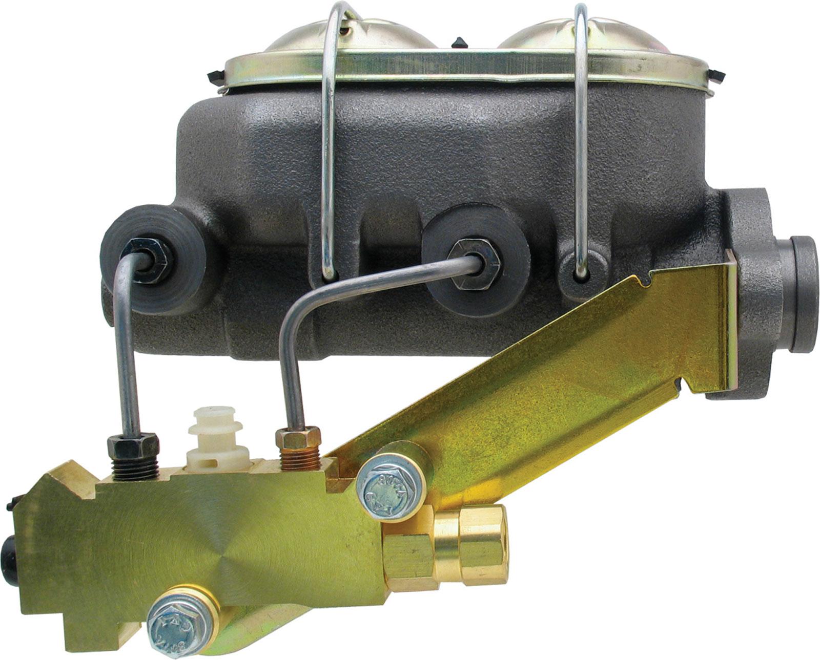 Universal Cast Iron Master Cylinder Kit W/ Left Mount Disc/ Drum Proportioning Valve