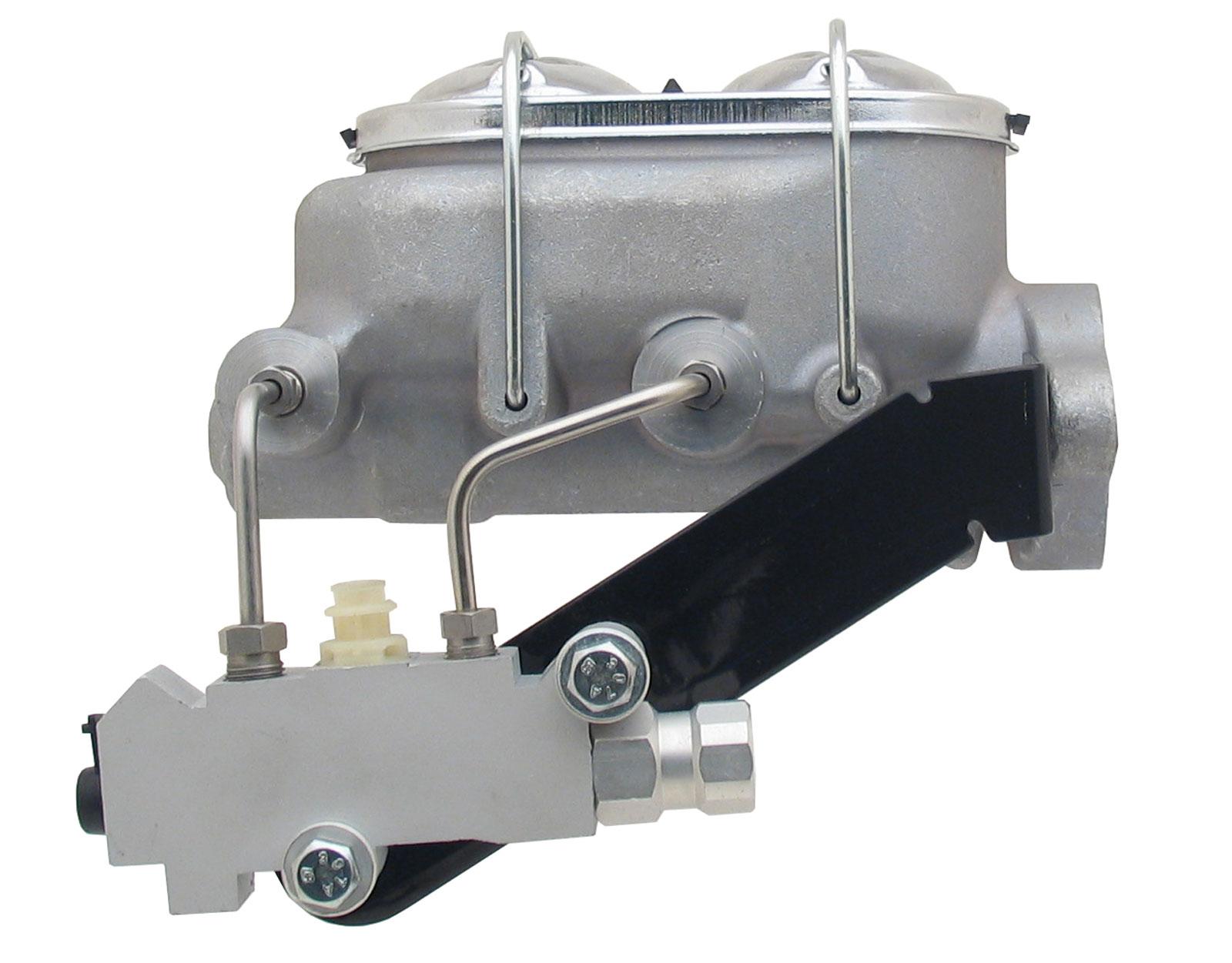 Universal Aluminum Proline Master Cylinder W/ Left Mount Proportioning Valve