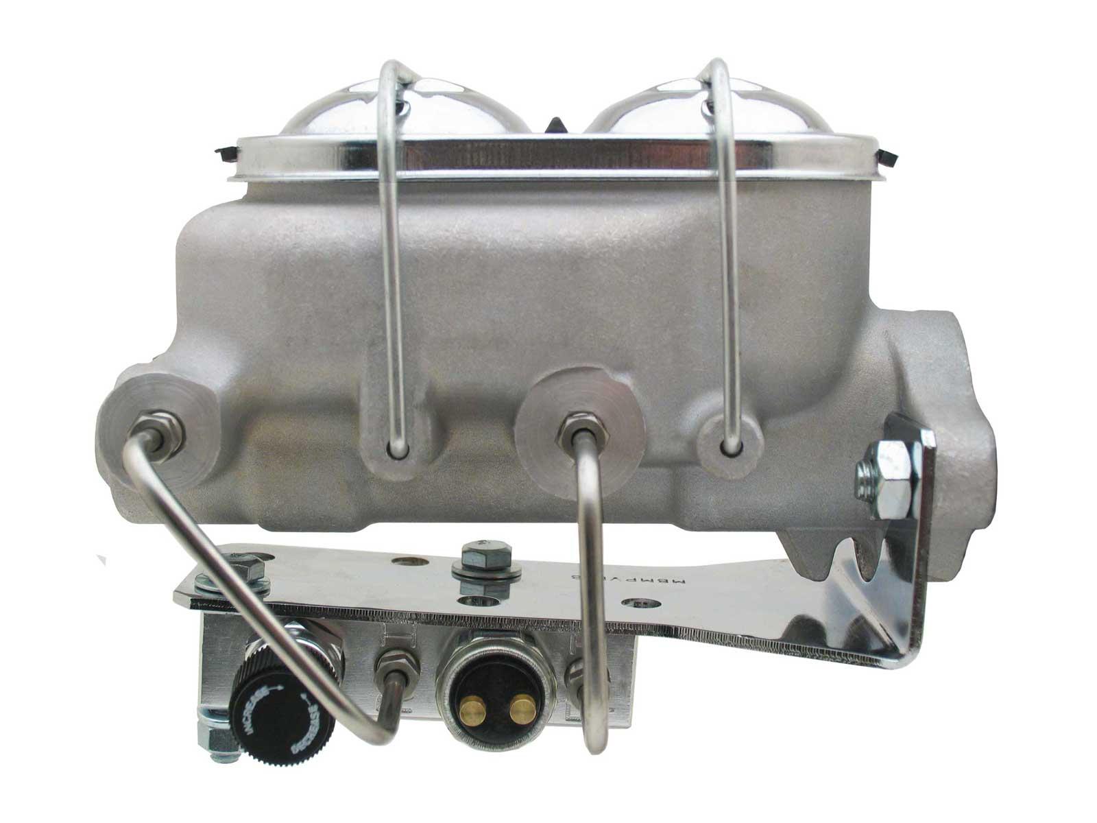 Universal Aluminum Proline Master Cylinder W/ Bottom Mount Adjustable Proportioning Valve