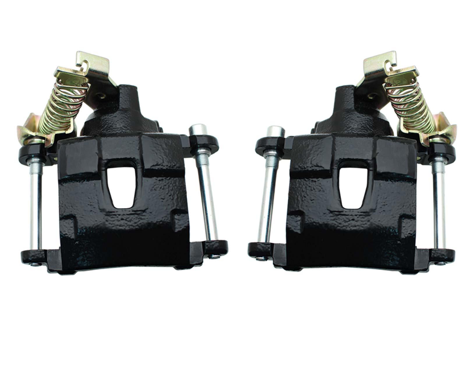 NR172-NR173PCB  GM Rear Caliper W/ E-Brake Option Powder Coated Black