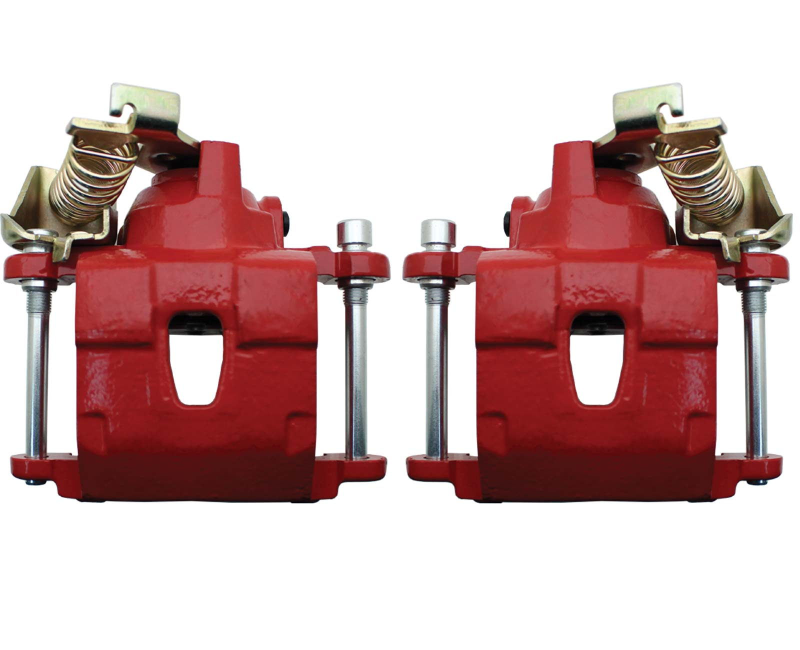 NR172-NC173PCR  GM Rear Caliper W/ E-brake Option Powder Coated Red