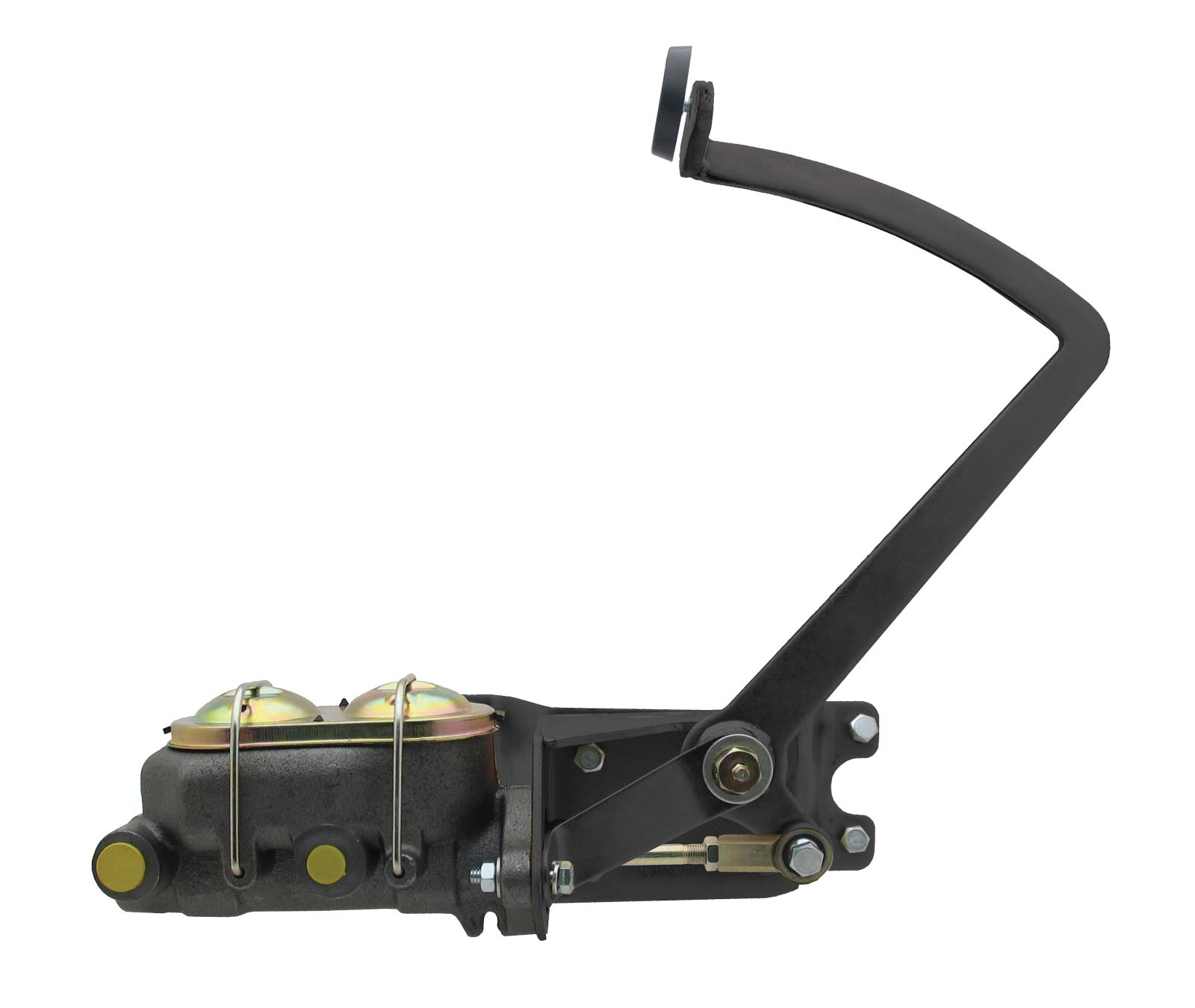 Universal Frame Mount Pedal Assembly For Manual Brakes