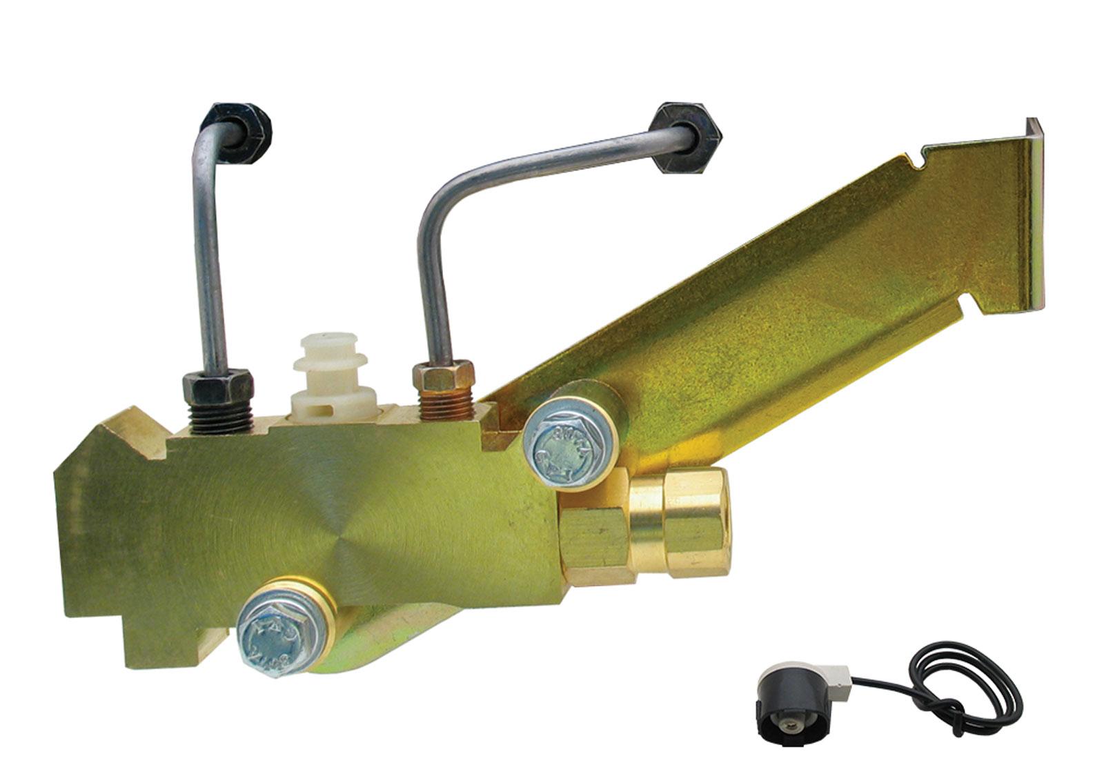 GM Left Side Prop Valve Kit. Disc/Disc - Brass