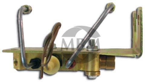 GM Bottom Mount Prop Valve Kit. Disc/Disc - Brass