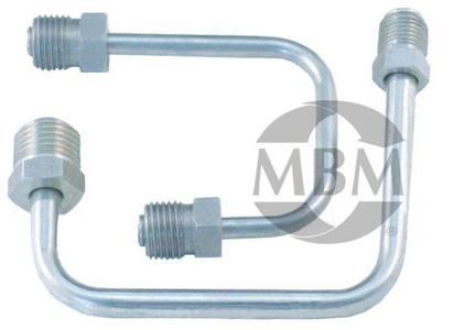 Bottom Mount Stainless Steel Line Kit 1